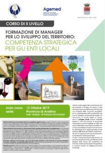 Locandina Corso AGEMED - Formazione Manager